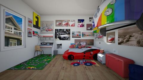 Future Racer - Kids room - by SammyJPili