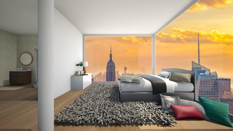 House in New York - Bedroom  - by Keliann