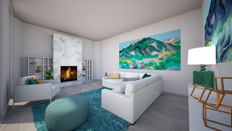 Okeeffe Playful Living - Living room - by Meg_