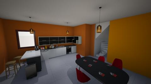 Kitchen - Modern - Kitchen - by designcat31