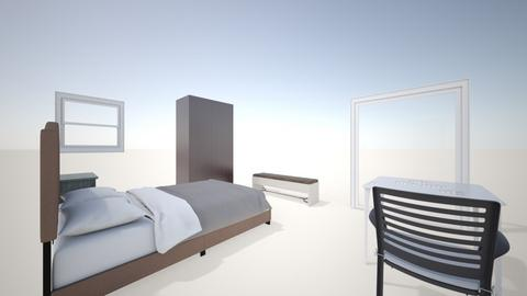Simple bedroom - Classic - Bedroom - by amruesam12