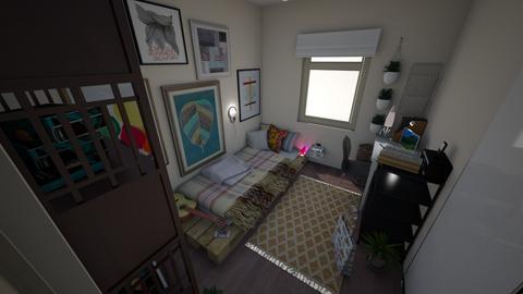 bedroom - by mariazurkan