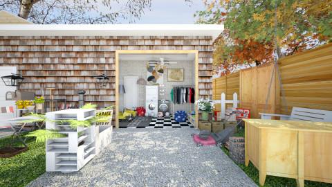 garage sale 2 - Modern - Garden  - by Evangeline_The_Unicorn