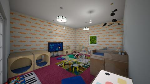 Baby dream - Classic - Kids room  - by pornnatcha