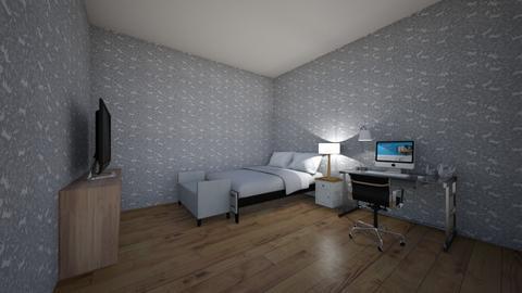 my dream room - Modern - Bedroom  - by FLUFFYCOTTNGIRL