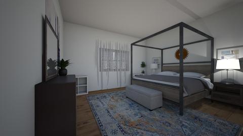 Trish Room Inspiration - Modern - Bedroom  - by Redesigned Finds
