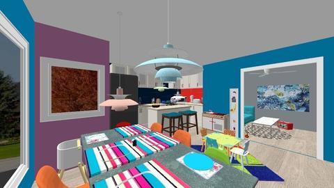 Colorful Kitchen - Kitchen - by Bella_Dance
