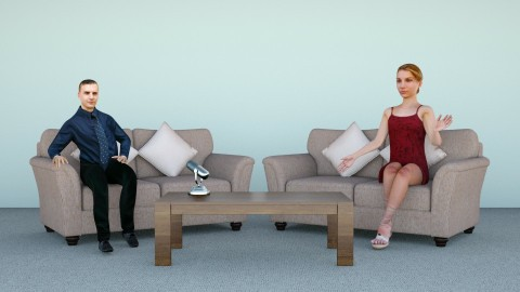 Interviewer setup - Minimal - Office  - by hernankern