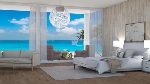 Hotel Bedroom - Bedroom  - by KenzTheRoomPlaner