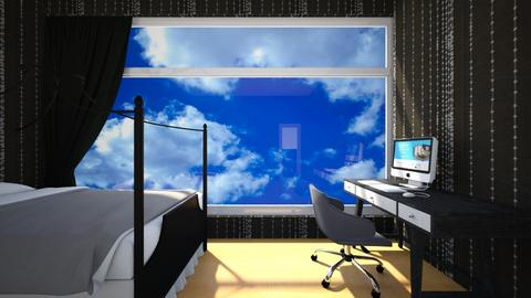 Habitacion moderna - Modern - Bedroom  - by anaiss