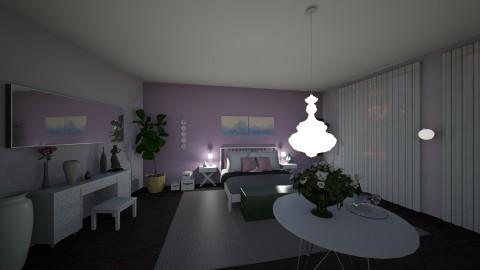 ParisianPurpleRain - Glamour - Bedroom  - by tena9