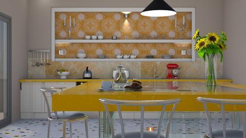 test kitchen - by yonvie