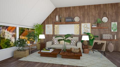 Brownie - Living room  - by lpkinteriordesigns