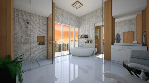 Woody Lux - Modern - Bathroom  - by Veny Mully