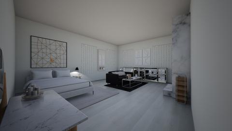 Marble - Modern - Bedroom  - by PumpkinPie12