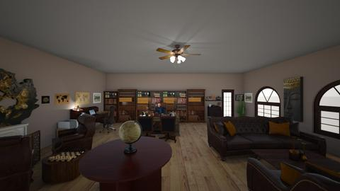 Victorian home office - Classic - Office - by thorcm