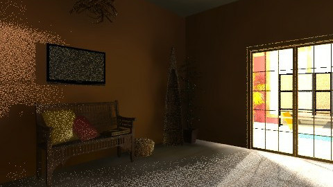 bedroom 2 - Rustic - Bedroom  - by saminthesky22