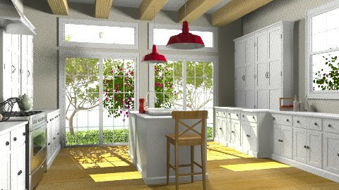 Cape Cod Kitchen II - Classic - Kitchen  - by Baustin