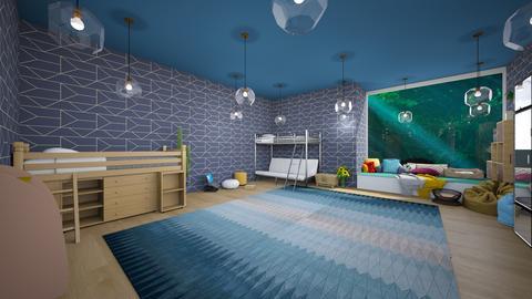 My dream Bedroom - Kids room  - by AM_POTAT