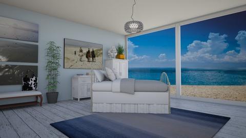 Beach Bedroom - Bedroom  - by KarJef