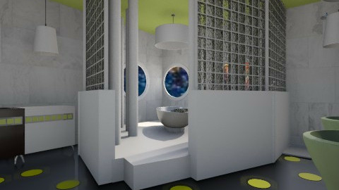 Bath kiwi - Modern - Bathroom  - by Evangeline_The_Unicorn