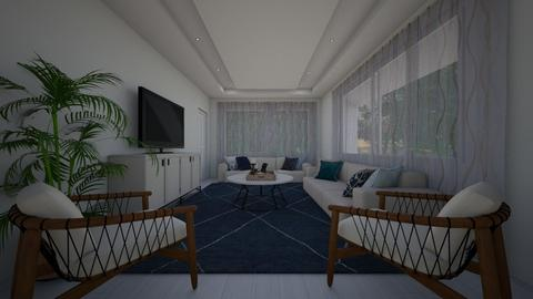 gocek - Living room  - by zozan