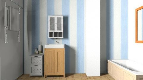 simple wooden bathroom - Minimal - Bathroom  - by bethany81