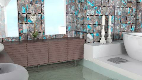 Overflow - Eclectic - Bathroom  - by channing4