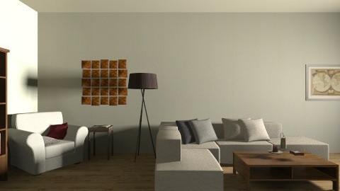 Rustic_Winter_Bookcorner - Rustic - Bedroom  - by ZoiPol