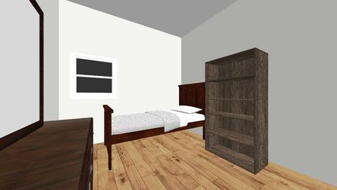 Chad Room - Bedroom  - by elisemick