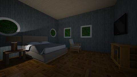 Guest room - Modern - Bedroom  - by marcusb29598