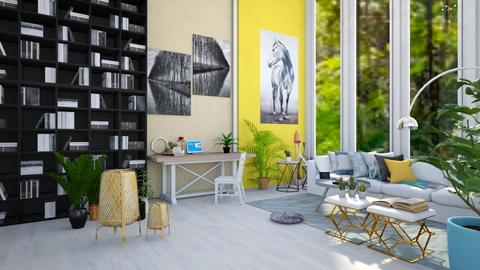 Spring vibes - Living room - by Sidney_stylingxx