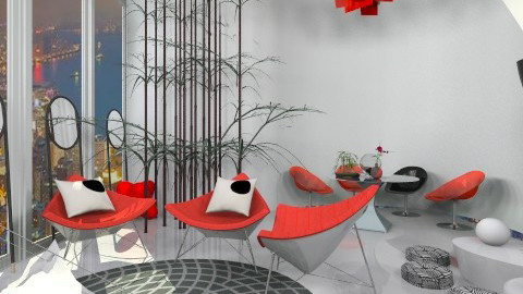 plastic test1 - Eclectic - Living room  - by mikaela7