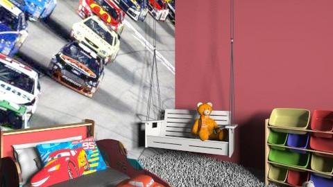 Car - Modern - Kids room  - by Jellybabe