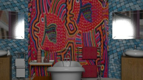 Fish - Eclectic - Bathroom  - by mrschicken