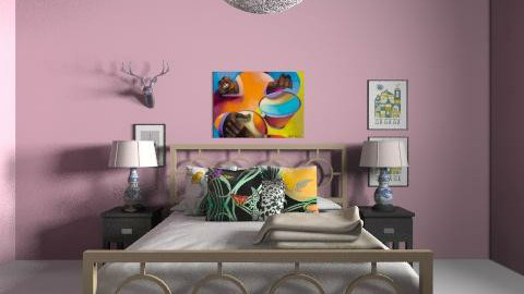 Inspired - Eclectic - Bedroom  - by hunny