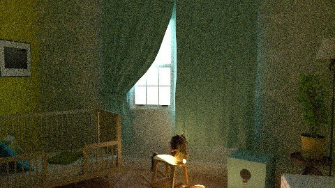 nursery @yaya's house - Eclectic - Kids room  - by ipathia