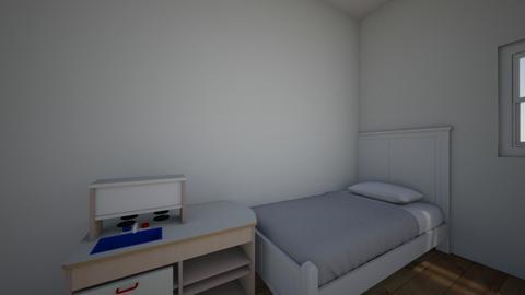 Dormitorio - Bedroom  - by Lauriski