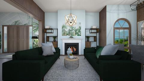 Hothouse Living - Living room  - by KylaTH