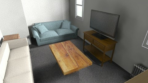 311 Frat Plain - Rustic - Office  - by BudFox93