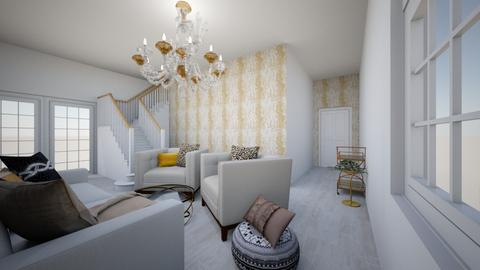 Shabby Chic - Living room - by tokage