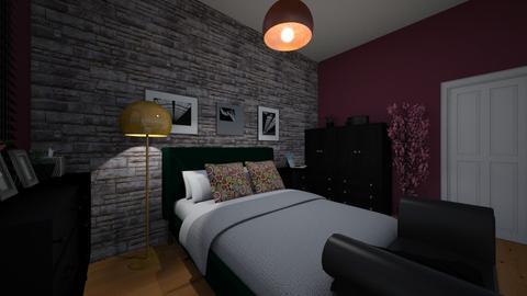 bedroom - Bedroom - by okularnica