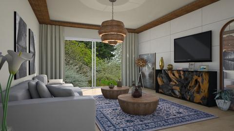 Com Madeira - Living room - by Alecio