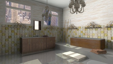bathroom - Rustic - Bathroom  - by JelenaS