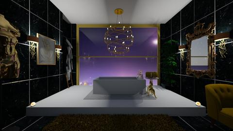 minimilistic bathroom - Bathroom  - by bluedolphin12