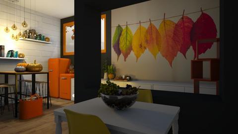 Autumn Kitchen - Kitchen  - by KittyKat28