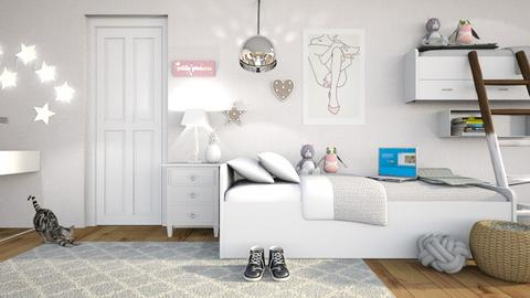 Twins_ROOM - Modern - Kids room  - by matildabeast