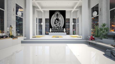 Zen Yoga Studio - Minimal - by AlSudairy S