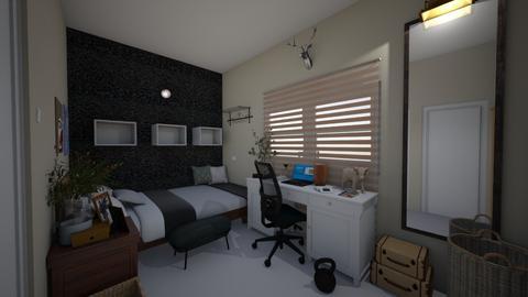 BrosRoom - Bedroom  - by Kat998