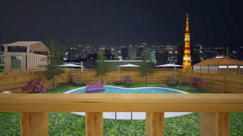 Neighborhood in Tokyo - Glamour - by Han Jisung